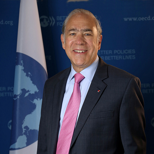 (Yonhap Interview) S. Korea has room for more fiscal spending, monetary easing to boost economy: OECD chief