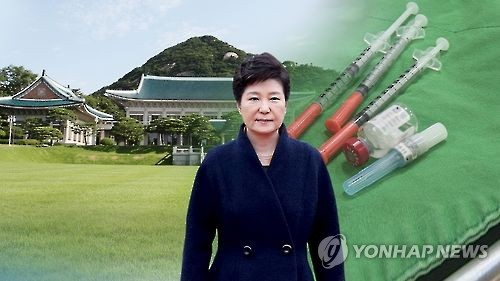 Medicine purchase by presidential office doubles under Park