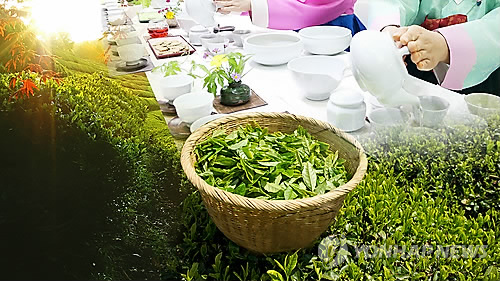Exports of Korean green tea surge 64.6 pct in Jan.-Oct