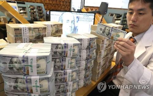 S. Korea's FX reserves drop in Nov. on strong dollar