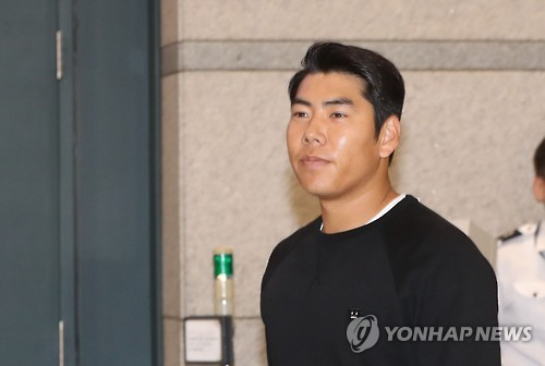 Major leaguer Kang Jung-ho subject to 'three strikes' law after latest DUI arrest