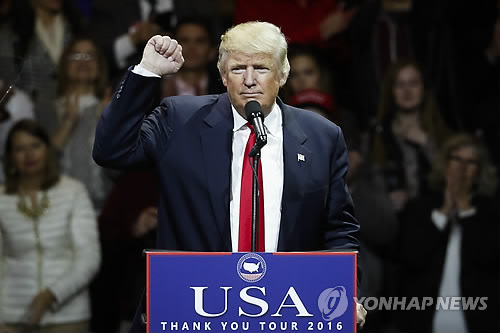(News Focus) Trump's call with Taiwan's leader sparks concern about cooperation with China over N.K.
