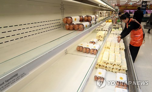 (News Focus) S. Korea struggles to contain egg prices with tariff-free imports