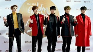 Boy group VIXX greets fans prior to awards ceremony