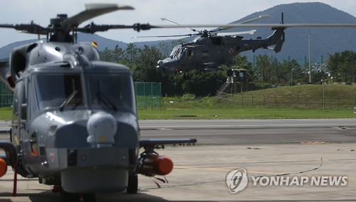S. Korea to add 12 maritime choppers by 2022