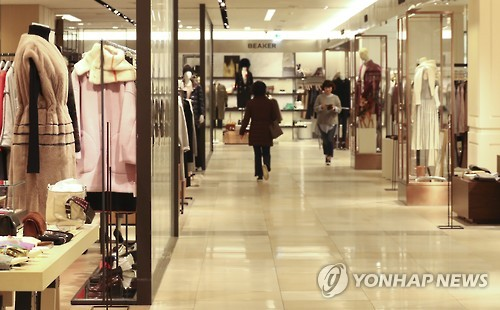Department store sales limp on, reminiscent of Japan