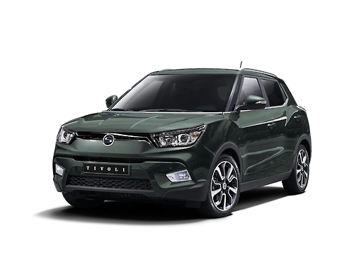 Ssangyong sets record sales target this year with robust Tivoli SUV