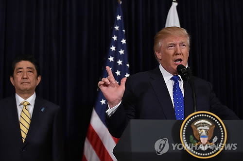 (News Focus) Trump's restrained reaction to N.K. missile launch spawns speculation about policy direction