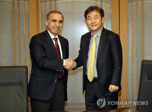 Yonhap News CEO, Jordanian envoy envision strengthened cooperation between news agencies