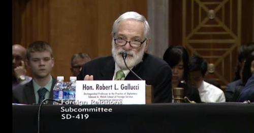 Gallucci: U.S. should give N. Korea early warning against nuclear proliferation