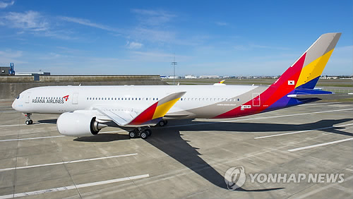 Asiana to receive its first A350 this week for service in May