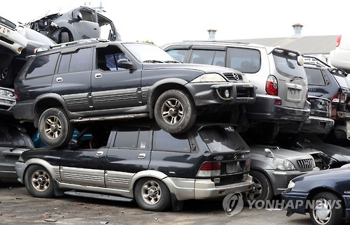 Car scrapping increases on government incentives for trade-ins