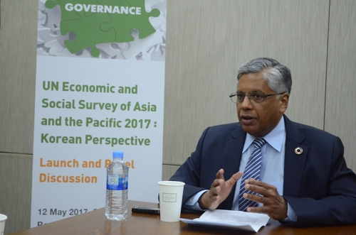 (Yonhap Interview) S. Korea needs to increase tax-to-GDP ratio: U.N. official