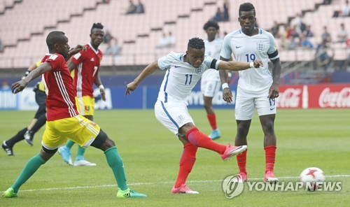 (U20 World Cup) England, Guinea play to 1-1 draw in Group A