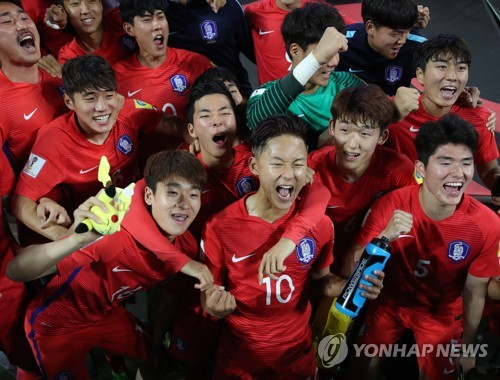 (LEAD) (U20 World Cup) S. Korea ride opportunistic offense, resilient defense into knockout stage