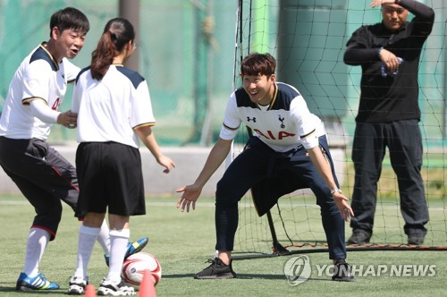 Tottenham players enjoy S. Korea visit with Son Heung-min