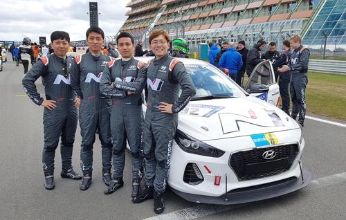 (LEAD) Hyundai to test i30N hot hatch in 24 Hours Nurburgring
