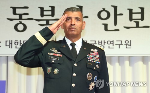 (LEAD) USFK chief: THAAD is about weakening Kim Jong-un's leverage