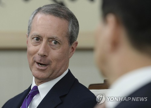 (LEAD) Seoul's top security advisor reaffirms commitment to strong alliance with U.S.