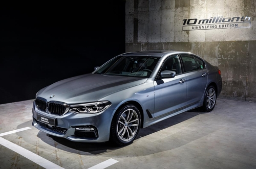BMW to sell 10 millionth 520d in S. Korea auction