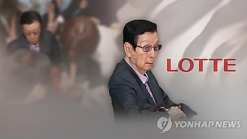 Lotte founder excluded from group's management