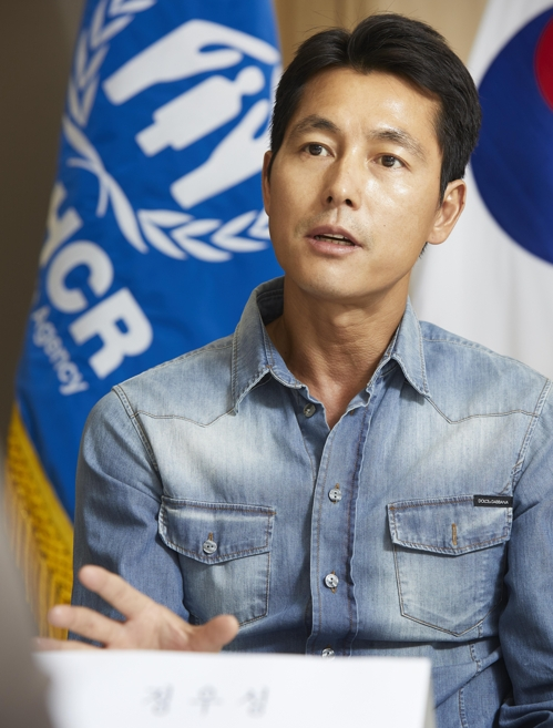 (Yonhap Interview) Actor Jung sees value of ordinary life after working on refugees issue