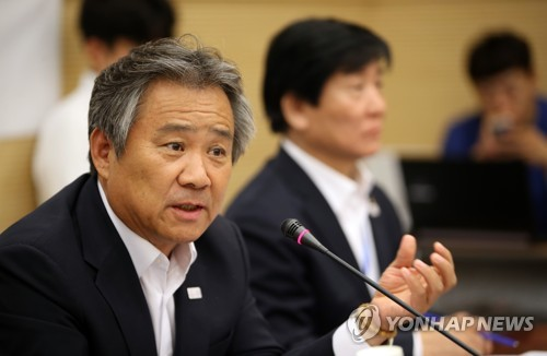 Now is not right time to discuss unified Korean team at PyeongChang: S. Korean Olympic chief