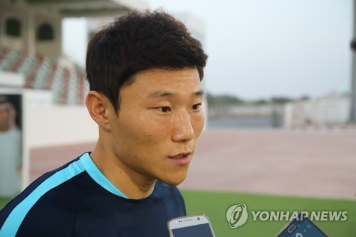 S. Korean winger in China hoping for nat'l football team call-up