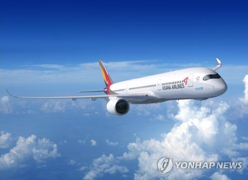 Asiana to deploy 2nd A350 on long-haul routes