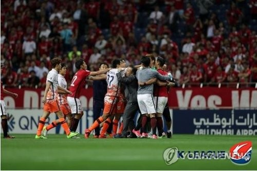 Jeju United players' suspensions reduced by AFC