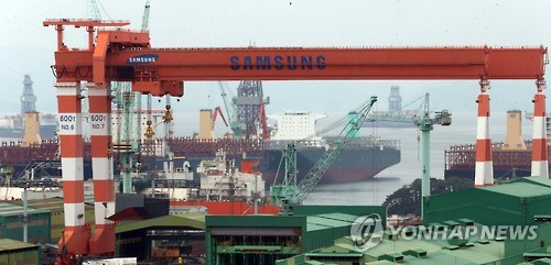 Samsung Heavy swings to black in Q2 on cost-saving measures