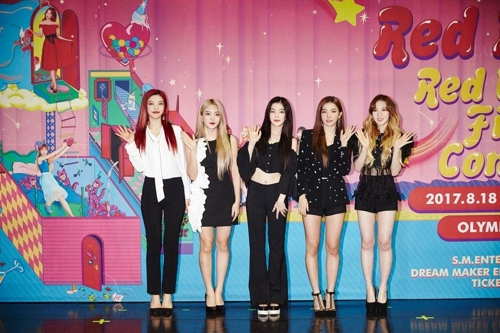 Red Velvet moved by huge fans at 1st stand-alone concert