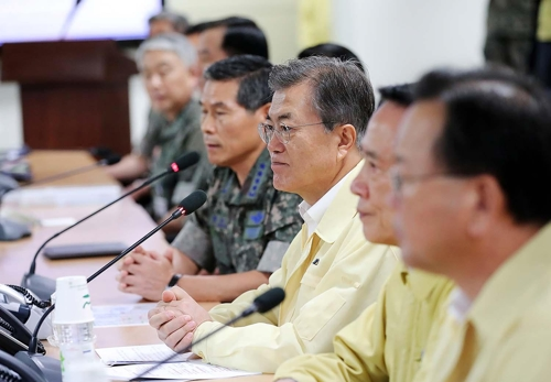 Moon urges full defense readiness against N. Korean provocations