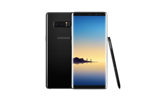(LEAD) Samsung unveils 6.3-inch Galaxy Note 8 with dual lens camera setup