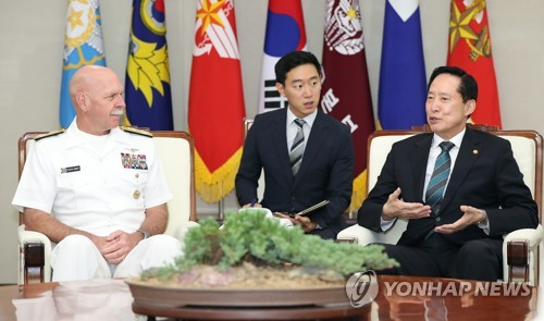 (Yonhap Interview) Alliance stronger due to N. Korea's belligerence: U.S. Pacific Fleet chief