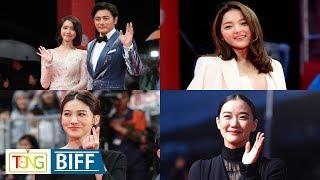 International celebrities on BIFF red carpet