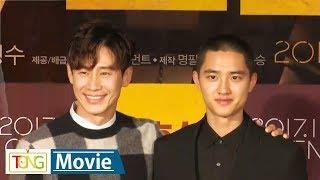 Do Kyung-soo, Shin Ha-kyun attend press conference for 'Room No. 7'