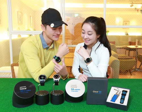 Samsung showcases smartwatch optimized for golfers