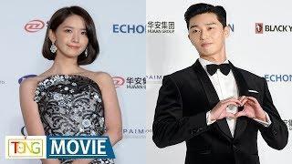 Yoona, Park Seo-jun on Daejong Awards red carpet