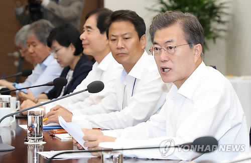 (News Focus) Six months into office, Moon keeps steady hand on reforms