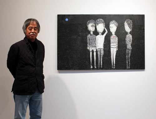 (Yonhap Interview) Descending into young self, artist pursues childlike frankness