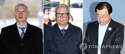 2 ex-spy chiefs arrested over illegal payments to Park aides