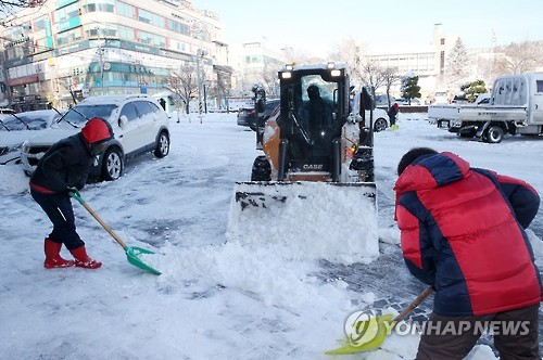 Special taskforce to deal with snow emergencies during PyeongChang Olympics