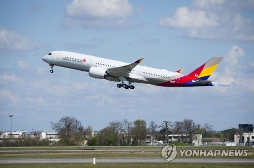 Asiana Airlines picked as top carrier in China