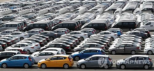 S. Korean auto exports to U.S. at standstill, imports up 4.6 pct