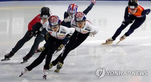 (LEAD) S. Korea picks up 2 titles to wrap up Short Track World Cup