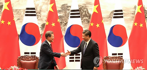 (LEAD) S. Korean president arrives in Chongqing as part of China trip