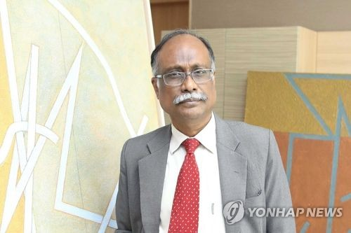(Yonhap Interview) Indian artist completes his first work in Korea