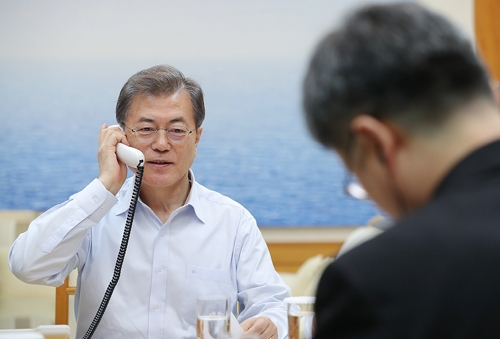 (LEAD) Leaders of S. Korea, France agree to boost cooperation