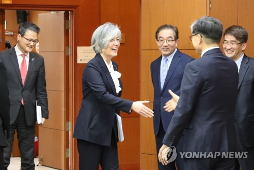 S. Korea working on N. Korea's Olympic participation not running afoul of int'l sanctions: FM